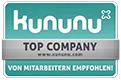Besuchen Sie uns auf Kununu!